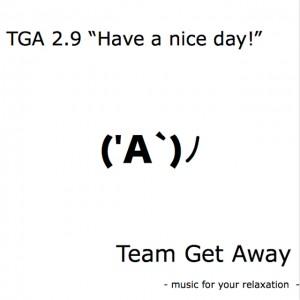 TGA 2.9 ジャケット